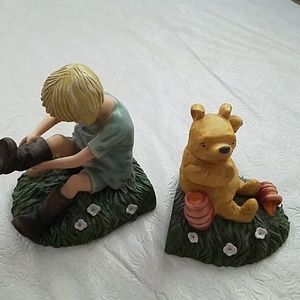 Winnie the Pooh Set of Book Ends Charpente